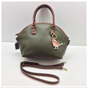 {Coach} Vintage Sheridan Roswell Dome Satchel